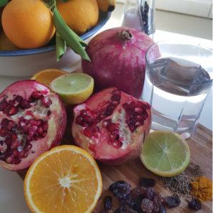 Pomegranate Drink Ingr